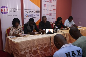 Osun Youth Agenda Press Conference