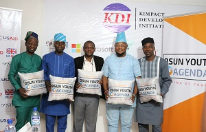 Kimpact Receives Osun State  Young Legislators At Kimpact  Office