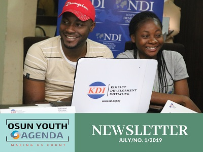 OSUN YOUTH AGENDA NEWSLETTER