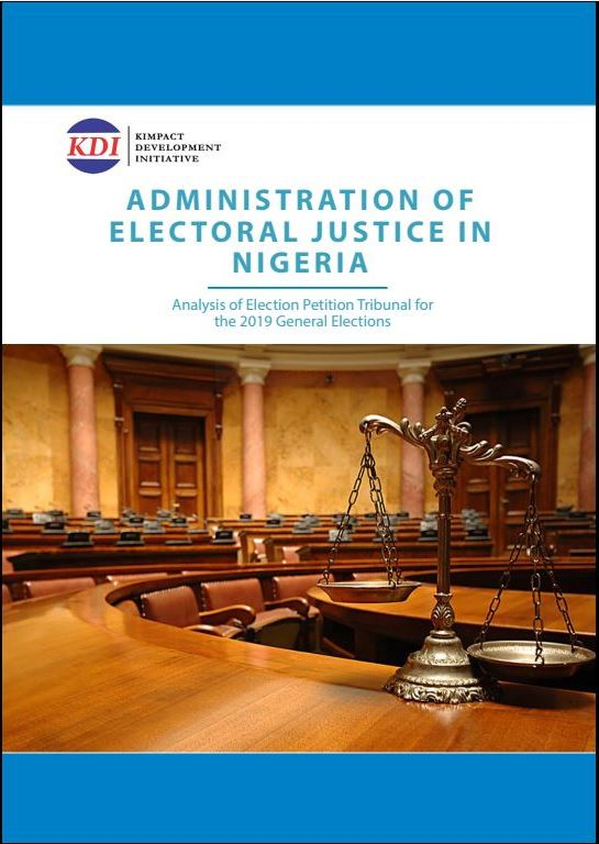 Administration of Electoral Justice in Nigeria