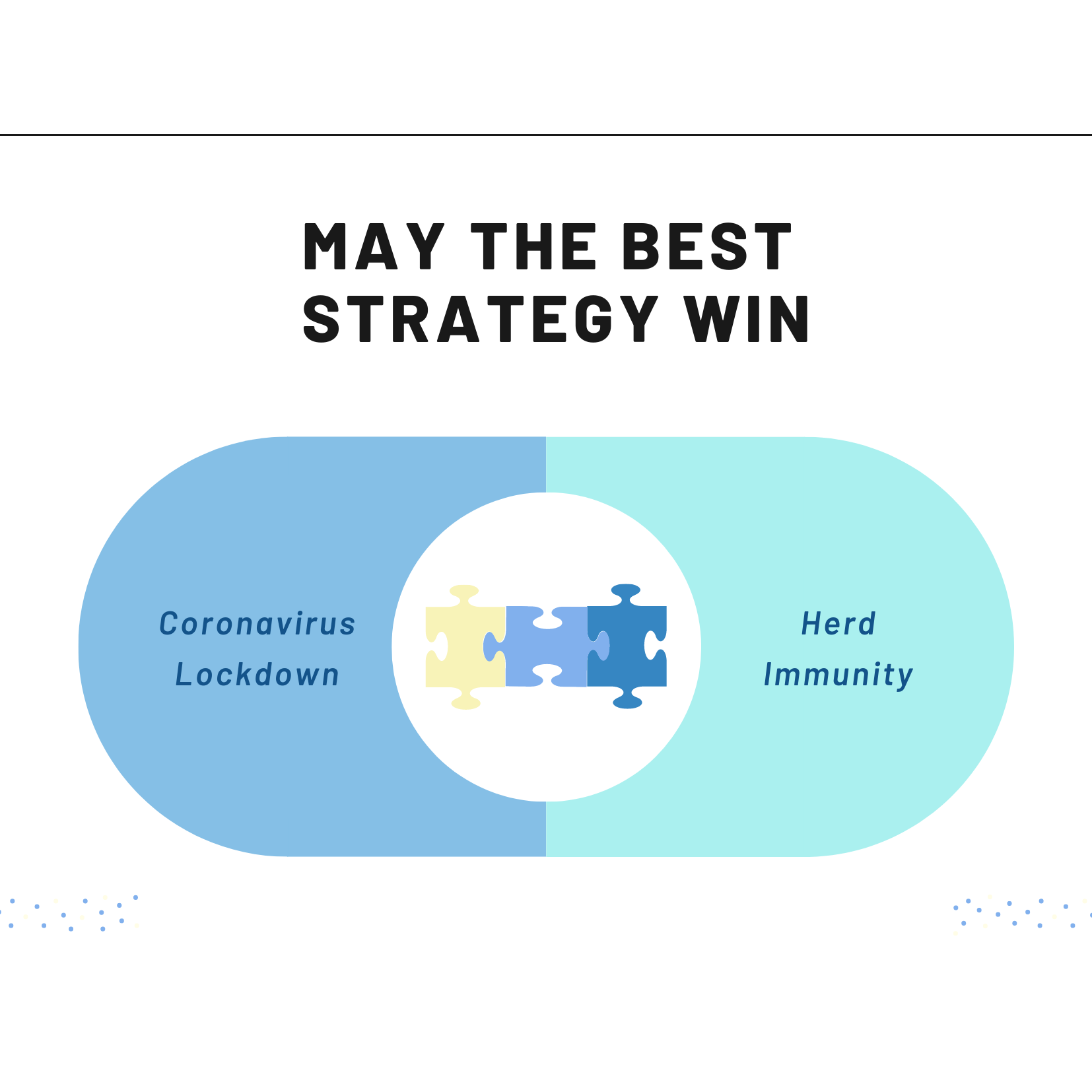 COVID-19: May the best strategy win.