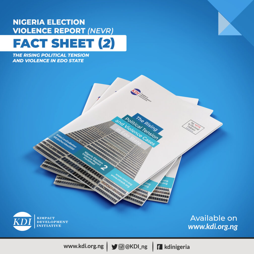 Nigeria Election Violence Report Factsheet 2 on #EdoDecides2020