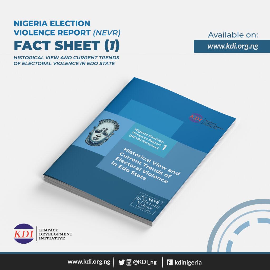 Nigeria Election Violence Report Factsheet 1 on #EdoDecides2020