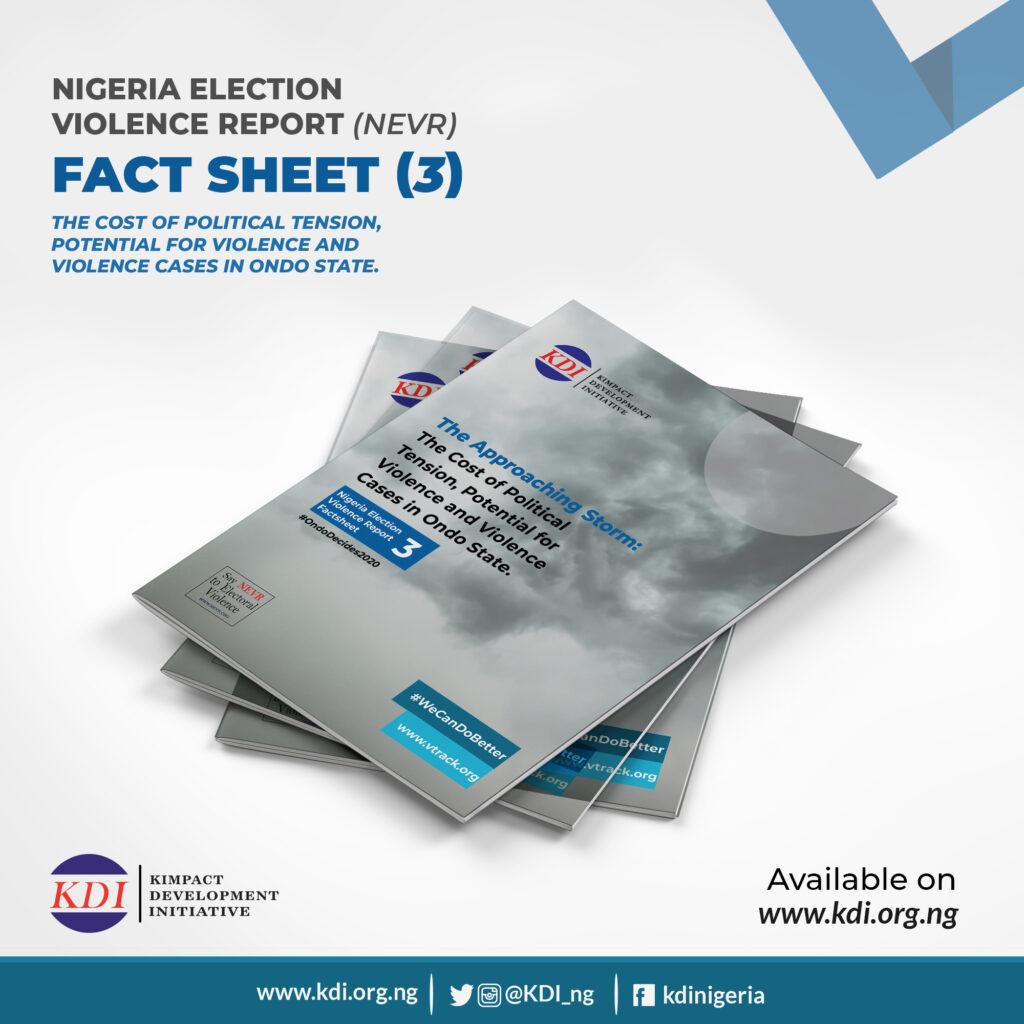 Nigeria Election Violence Report Factsheet 3 on #OndoDecides2020
